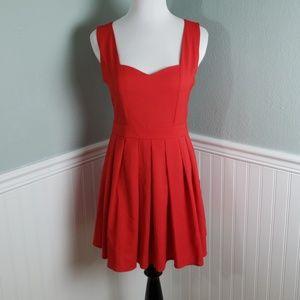 Tea & Cup Heart Cutout Dress